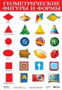 Плакат. Геометрические фигуры и формы
